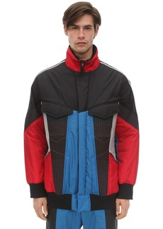 Y-3 Color Block Primaloft Nylon Track Jacket
