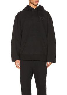 Y-3 Yohji Yamamoto Chest Logo Hoodie