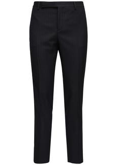Yves Saint Laurent 15.5cm Pinstripe Wool Pants