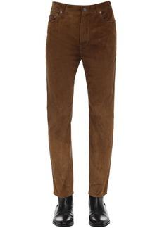 Yves Saint Laurent 15.5cm Straight Suede Pants