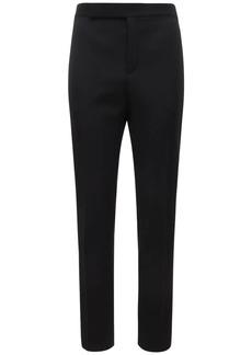 Yves Saint Laurent 16.5cm  Wool Pants W/ Satin Bands
