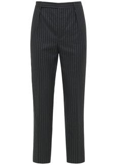 Yves Saint Laurent 19.5cm Straight Wool Blend Pants