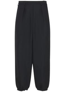Yves Saint Laurent Hakama Wool & Mohair Pants