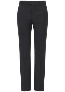 Yves Saint Laurent Pinstripe Mohair & Wool Pants