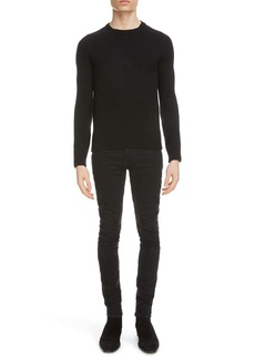 Yves Saint Laurent Saint Laurent Crewneck Cashmere Sweater