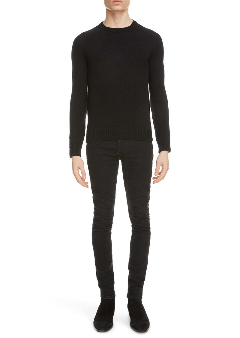 Yves Saint Laurent Saint Laurent Crewneck Cashmere Sweater