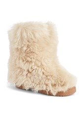 Saint Laurent Genuine Shearling Boot (Women)