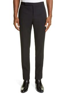 Yves Saint Laurent Saint Laurent Grain de Poudre Wool Tuxedo Pants