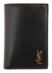 Yves Saint Laurent Saint Laurent Monogram Bifold Leather Wallet