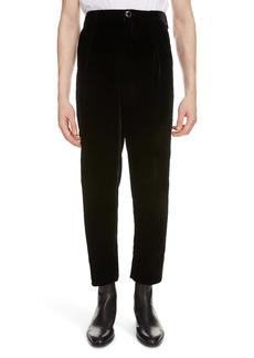 Yves Saint Laurent Saint Laurent Velour Trousers