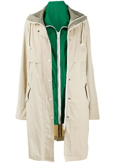 Yves Salomon double garment trench coat