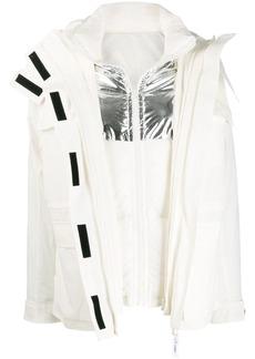 Yves Salomon double layer jacket
