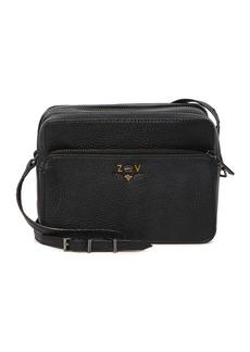 Zadig & Voltaire Boxy XL Blason Grained Crossbody Bag