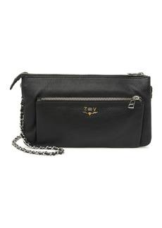 Zadig & Voltaire Rick Blason Grained Leather Crossbody Bag