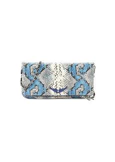 Zadig & Voltaire Rock Painted Embossed Snakeskin-Print Leather Crossbody Bag