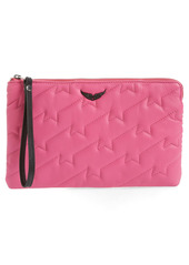 Zadig & Voltaire Uma ZV Quilted Wristlet