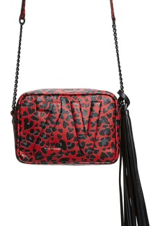 Zadig & Voltaire Extra Small Boxy Initials Leopard Print Leather Crossbody Shop