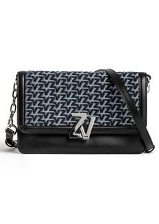 Zadig & Voltaire Monogram Crossbody Bag