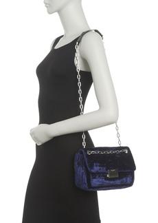 Zadig & Voltaire Ziggy Velvet Shoulder Bag