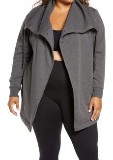 Zella Amazing Cozy Wrap Jacket (Plus Size)