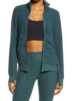 Zella Lola Restore Soft Lounge Cozy Jacket