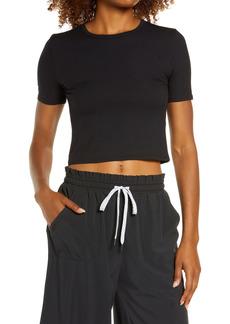 Zella Method Rib Crop T-Shirt