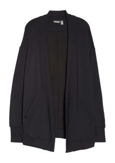 Zella Peaceful Fleece Open Front Cardigan