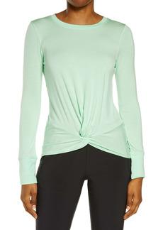 Zella Peaceful Soft Twist T-Shirt