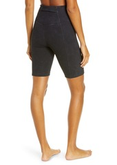 Zella Snow Wash Rib Bike Shorts