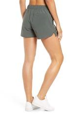 Zella Taylor Getaway High Waist Recycled Polyester Shorts