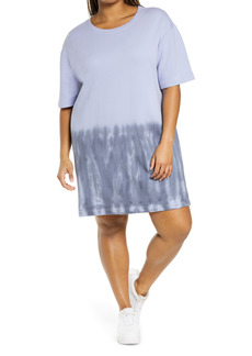 Zella Tie Dye T-Shirt Dress (Plus Size)