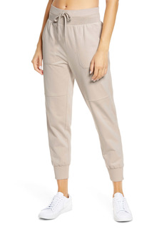 Zella Washed Organic Cotton Ankle Joggers