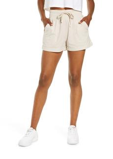 Zella Washed Organic Cotton Shorts