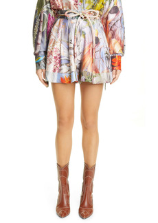 Zimmermann Botanica Floral Silk Shorts