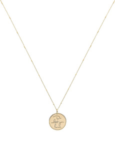 Zoë Chicco Do What You Love Mantra Necklace