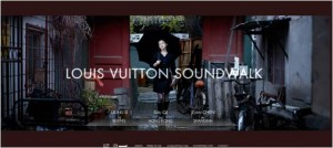 Louis Vuitton launches audio guides...bizarre!