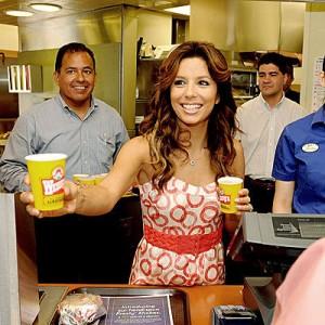 Eva Longoria at Wendy's?