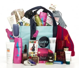 We're giving away a Lucky Gift Bag!  Value $500!