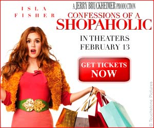 Free Preview Tickets to Confessions of a Shopaholic!