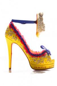 LOVING Louboutin's Marie Antoinette Inspired Stiletto