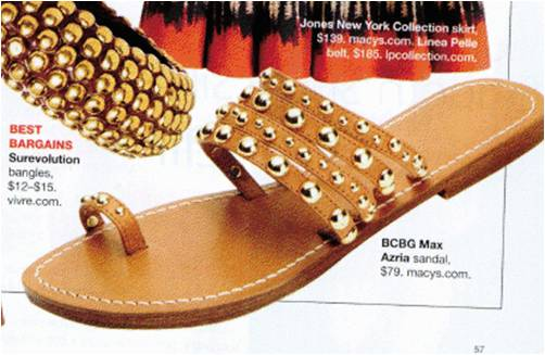 Harper's Bazaar Sandals in my Salemail