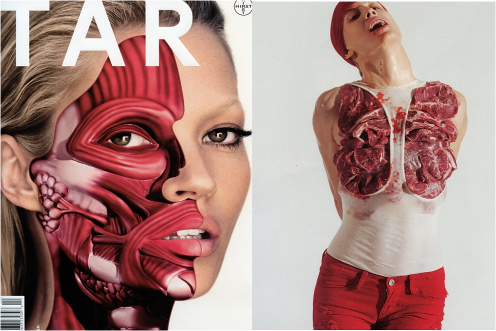 Kate Moss in Tar Magazine- Fashion or Freaky?