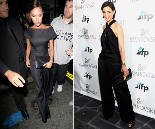 Celebrity Style: The Black Jumpsuit. Get the Look!