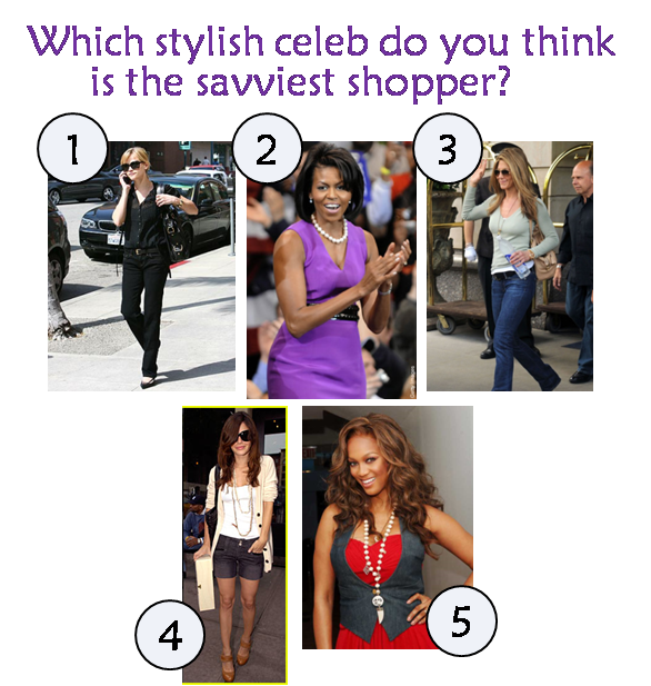 Savviest Celebrities & Those Most Wanted To Shop With