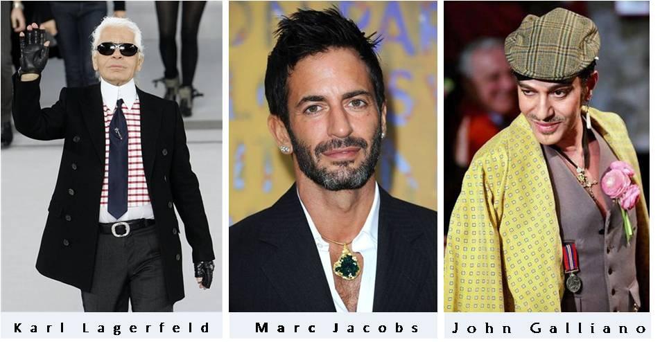 Designer Trivia: Karl Lagerfeld, Marc Jacobs & John Galliano