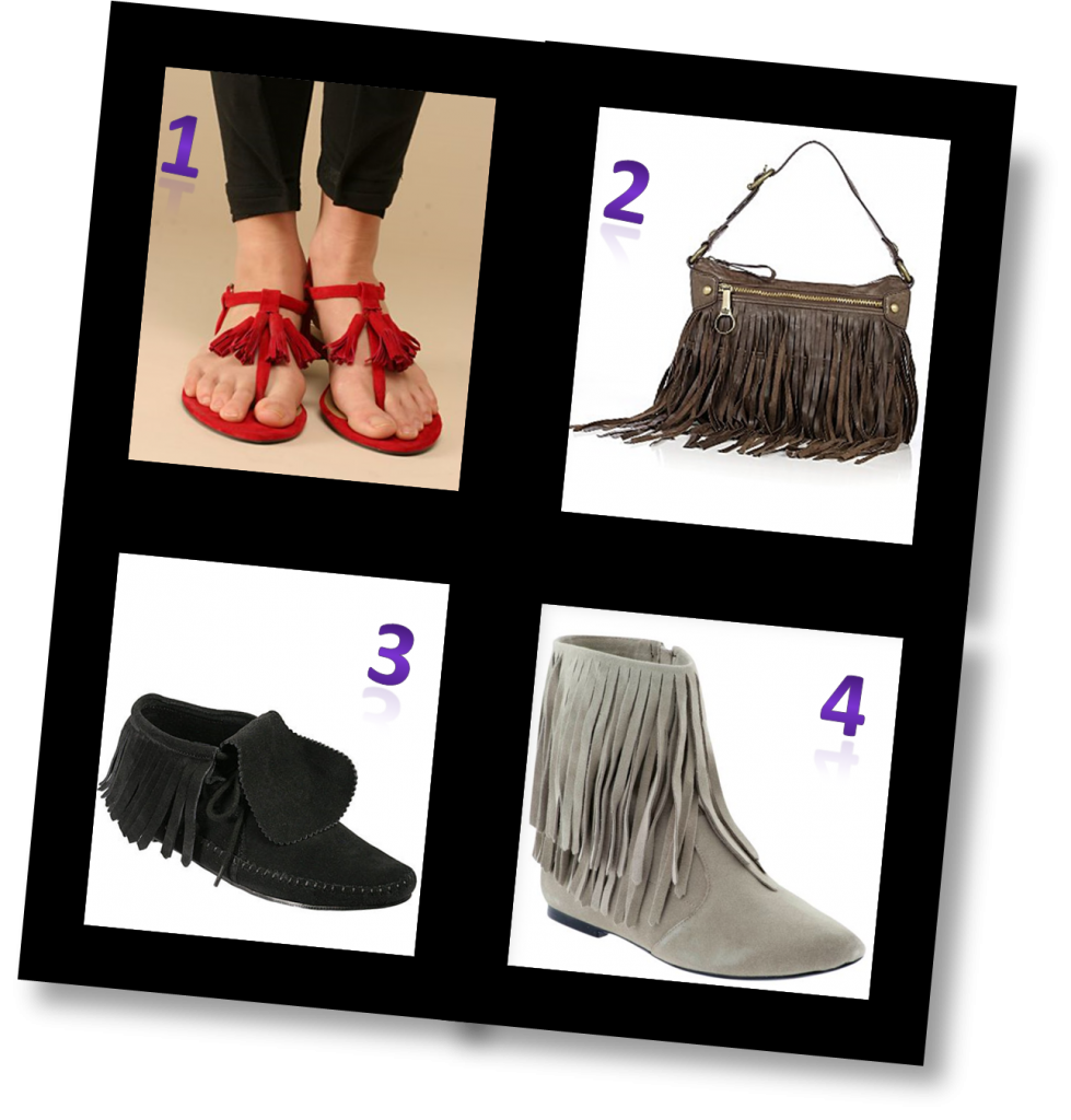 Fun Fringe Fashion Finds!