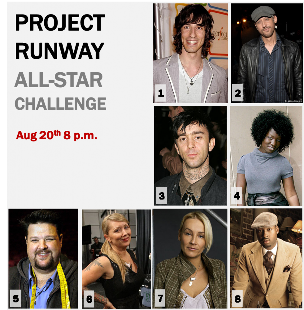 A Reunion You'll Actually Look Forward To: Project Runway All-Star Challenge