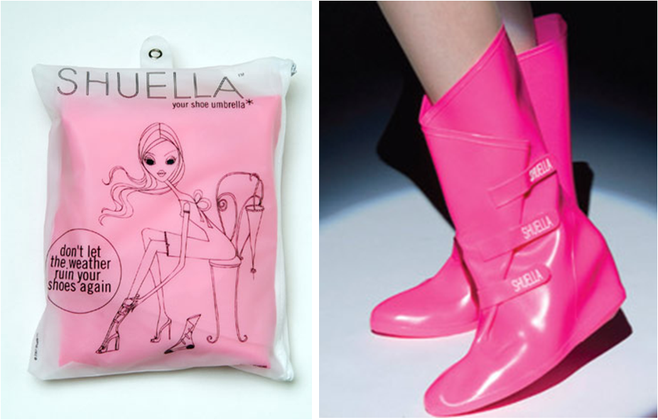 Shelter Your Shoes from Rain with Shuella