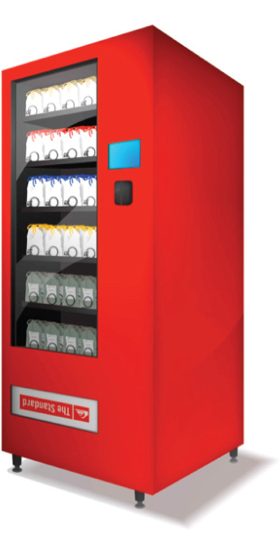 The Standard Hotel/Quiksilver Vending Machine Collaboration