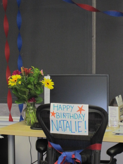 Happy Birthday, Natalie!!